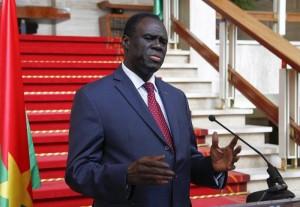 Transitional president Michel Kafando visits Ivory Coast