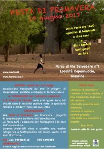 Locandina 10 giugno Festa primavera'17